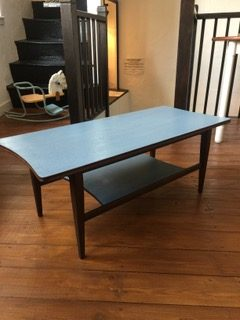 Mid Century Hand Painted Coffee Table Jampot Norwich