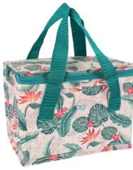 Colourful cheese leaf design lunch bag